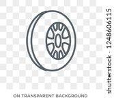 car tyre icon. car tyre design... | Shutterstock .eps vector #1248606115