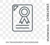 commercial paper icon.... | Shutterstock .eps vector #1248614065