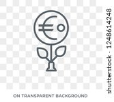 european central bank icon.... | Shutterstock .eps vector #1248614248