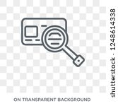 credit reference agency icon.... | Shutterstock .eps vector #1248614338