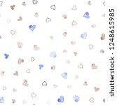 light blue  red vector seamless ... | Shutterstock .eps vector #1248615985