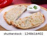 traditional uzbek fried...   Shutterstock . vector #1248616402