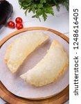 traditional uzbek fried...   Shutterstock . vector #1248616405