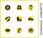 exercise icons set with cue...