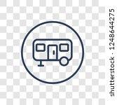 caravan sign icon. trendy...   Shutterstock .eps vector #1248644275