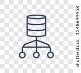 relational database management... | Shutterstock .eps vector #1248644458
