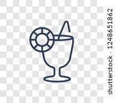refreshing cold drink icon.... | Shutterstock .eps vector #1248651862