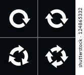 4 arrow pictogram refresh...