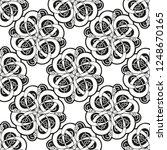 seamless geometric ornamental... | Shutterstock .eps vector #1248670165