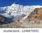 nepal  annapurna conservation... | Shutterstock . vector #1248673552