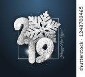 "vector ""new year card""   happy...   Shutterstock .eps vector #1248703465"