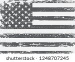 grunge black and white american ... | Shutterstock .eps vector #1248707245
