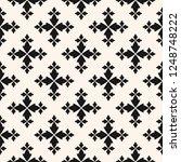 vector floral seamless pattern. ...   Shutterstock .eps vector #1248748222