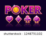 logo poker background for...