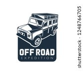 modern off road car logo... | Shutterstock .eps vector #1248766705