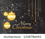 merry christmas holiday... | Shutterstock .eps vector #1248786442