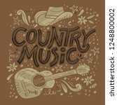 country music festival retro... | Shutterstock .eps vector #1248800002