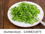 vegetarian dish  plate with... | Shutterstock . vector #1248821875
