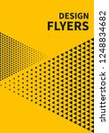 booklet template  presentations ... | Shutterstock .eps vector #1248834682