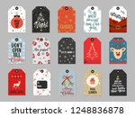 christmas gift tags set.... | Shutterstock .eps vector #1248836878