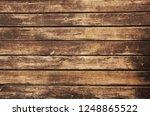 brown wood texture. abstract... | Shutterstock . vector #1248865522