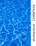 Blue Tiles Pool With Ripple...