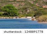 Serene Coastal Lake With...