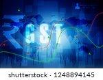 2d rendering stock market... | Shutterstock . vector #1248894145