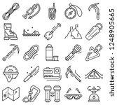 mountaineering equipment icon...   Shutterstock .eps vector #1248905665