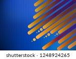 blue background for business...   Shutterstock .eps vector #1248924265
