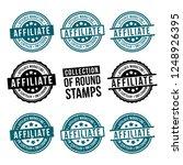 affiliate marketing round stamp ... | Shutterstock .eps vector #1248926395