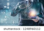 manager technical industrial... | Shutterstock . vector #1248960112