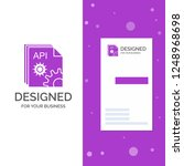 business logo for api  app ...