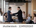 mature director company owner... | Shutterstock . vector #1249020265