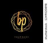 initial bp handwriting logo...