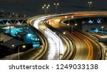 view on night city traffic on... | Shutterstock . vector #1249033138