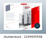 brochure template layout design.... | Shutterstock .eps vector #1249055938