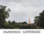 admiralty spire in summer | Shutterstock . vector #1249056202