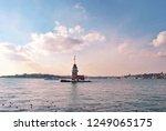 maiden tower istanbul turkey | Shutterstock . vector #1249065175