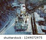 andriyivskyy descent church | Shutterstock . vector #1249072975