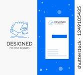 business logo for business ... | Shutterstock .eps vector #1249105435