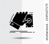 business  hand  money  earn ... | Shutterstock .eps vector #1249107175