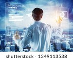 analytics business data... | Shutterstock . vector #1249113538