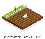 isometric automation smart... | Shutterstock .eps vector #1249121008