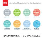 set of international... | Shutterstock .eps vector #1249148668