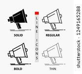 bullhorn  digital  marketing ... | Shutterstock .eps vector #1249165288