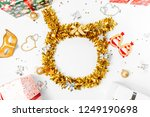 christmas composition.... | Shutterstock . vector #1249190698