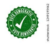 vector vote democratic... | Shutterstock .eps vector #1249195462