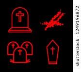 iconscount  ground vector set. ... | Shutterstock .eps vector #1249196872