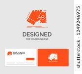 business logo template for... | Shutterstock .eps vector #1249246975